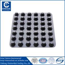 Fabricante Projeto de túnel Folha / placa de drenagem de fenda de plástico
