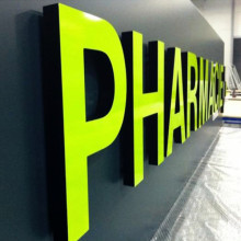 3D Channel Letters LED Sign Commercial Sign Company