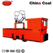 Cjy 10 toneladas línea aérea arriba batería locomotora eléctrica carretilla