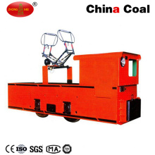 Cjy Locomotive électrique de chariot à batterie de ligne aérienne de 10 tonnes