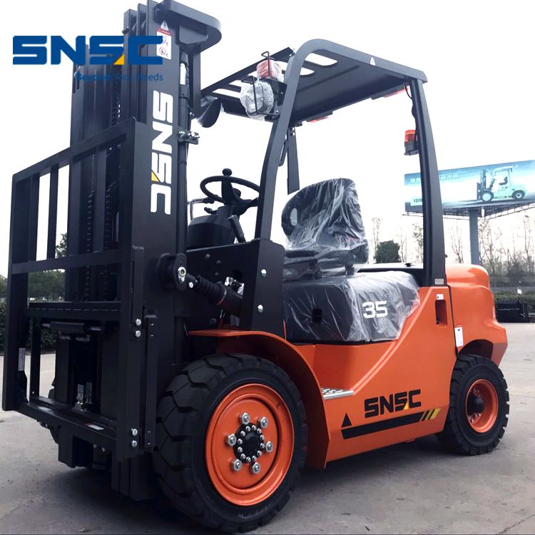 3.5Tons Forklift Container Powered Diesel