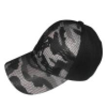 Gorra de béisbol con aplique de malla Bb243