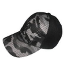 Baseball Cap with Mesh Applique Bb243