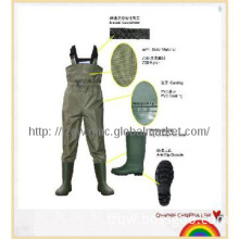 nylon chest wader for fishing and flood