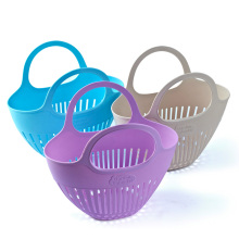 Eco-Friendly Plastic Collecting Basket with Handle