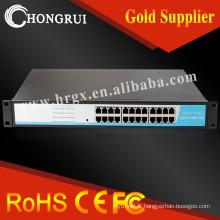 Commutateur de fibre optique commutateur hub 24 ports fibre
