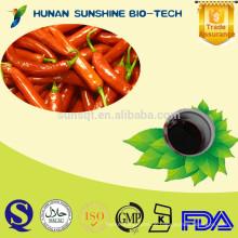 natürlicher Pflanzenextrakt Capsicum Öl Paprika Oleoresin für natürliches Chilli rotes Farbpigment