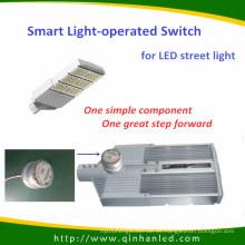 Lámpara de carretera LED de 150W con interruptor de control de luz inteligente