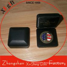 Kundenspezifische Verpackungs-Anzeigen-Münzen-Metallkasten