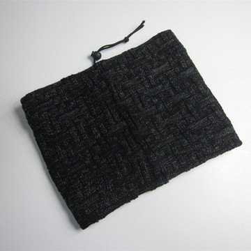 Hot Sale Black Knitted Neck Scarf