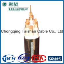 Хорошее качество PVC / XLPE Материал Силовой кабель 240mm2