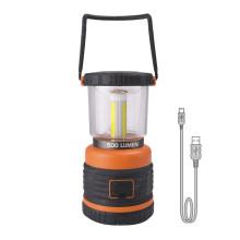 Lampe-torche rechargeable de lanterne de camping de banque de puissance de 4400mAH