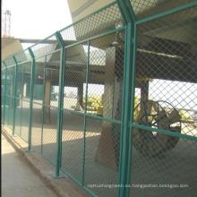PVC soldado malla de alambre de seguridad valla