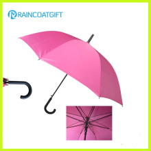 Cheap Advertising Auto Open Straight Umbrella Rum-0304-10