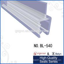 Porte de douche en caoutchouc / bande de plastique magnétique transparente
