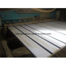 Exporting for Shop Display White Color Slotted Melamine MDF