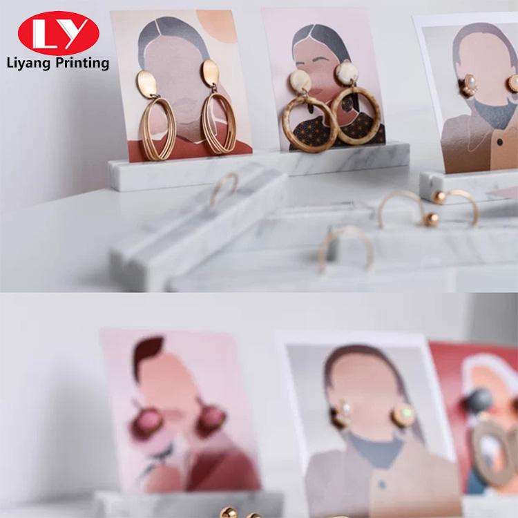 Jewelry Display Card