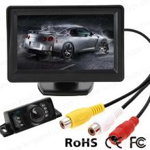4.3 TFT LCD Monitor Car Backup Camera Rearview System