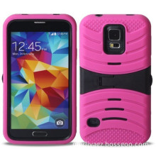 Combo Robot Case with Kickstand for Samsung S5 I9600