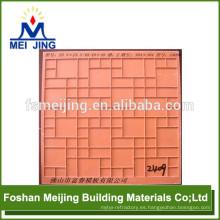 Molde de fibra de resina para rejillas de mosaico