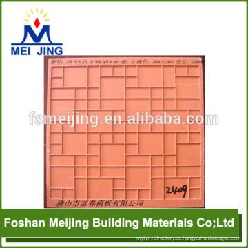 Harz-Faser-Form für Mosaikgitter