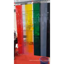 ПВХ завесы специальные использовано для холодной комнаты