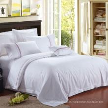 Juego de cama de lujo del hotel cómodo al por mayor de alta calidad al por mayor