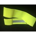 Cheap custom printing magic tape elastic reflective armband bracelets