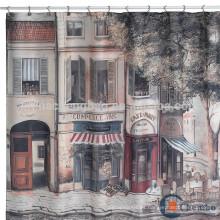 Cortina de ducha de paisaje cortina de agua cortina de agua