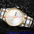 Nouvelle montre en acier inoxydable pour homme, automatique et quartz (Ja 180)