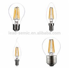 China fabricante fornecedor, indoor, redondo, chegada nova alta qualidade 3w chamejar chama e14 led light edison bulbs
