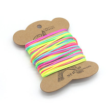 Colorful Rainbow nylon braided rope manufacturing