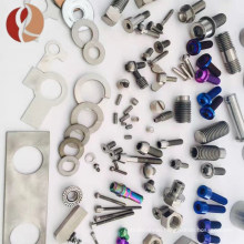 yunch the price of titanium alloy bolts, nuts and fasteners screw