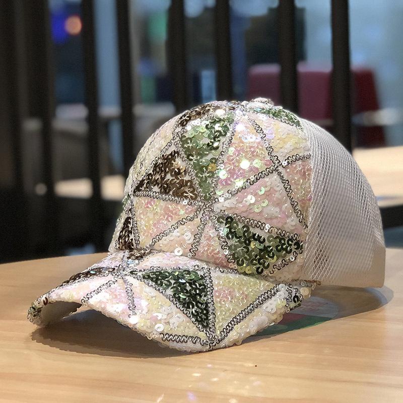 Baseball Sequin Embroidery Hats