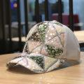 Chapeaux de casquette de broderie spéciale de baseball d'été