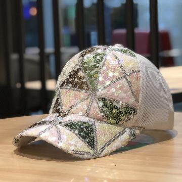 Летние бейсбольные кепки в сеточку со специальной вышивкой