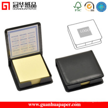 PU Cover Promotional Sticky Notes Memo Set