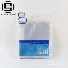 Printed die cut plastic bags for shopping