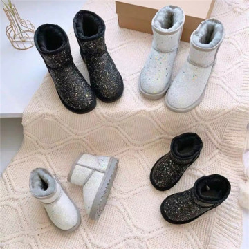 Fashionable Solid Snow Boots