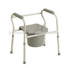 Chaise pliante en acier pliante pour les patients handicapés CM001
