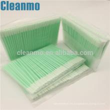 Cleanroom Swab Small Top Una capa de esponja de poliéster PS758L Clean Slotted Area