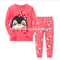 En gros de haute qualité à manches longues enfants filles pyjamas avec des prix bas