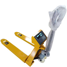 Best quality 2.5T AC pump hand pallet truck price with SCALE
