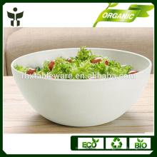 Tazón de ensalada biodegradable tazón de ensalada natural conjunto