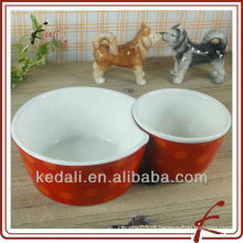 Tigelas de pet cerâmicas