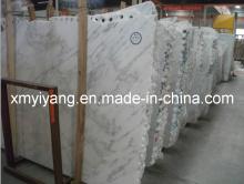Eastern White, White Sugar Marble Slabs (polished, honed white marble)