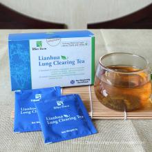 Linhua tea lung clearing jiaonang natural china herbs detox capsule winstown lianhua qingwen tea