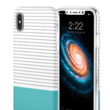 Wavy Line Wave Line Ripple Ripple Apple Iphone x Hållare