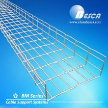 Cablofil Basket Tipo Wire Mesh Cable Bandeja con onda con accesorios