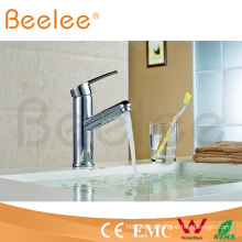 New Design Chrome Plated Hot Cold Water Mixer Tap